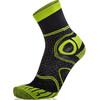 Eightsox Trekking Merino Socks Unisex black/green